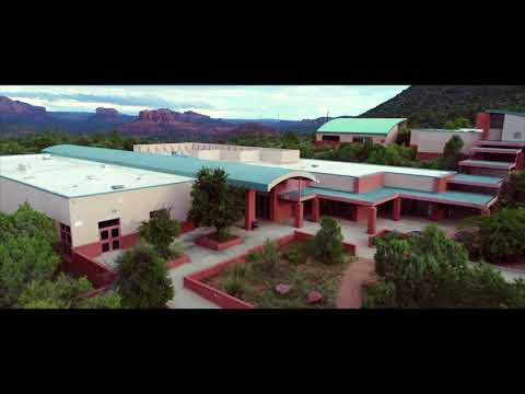 Phantom 4 PRO+ Sedona Red Rock High School