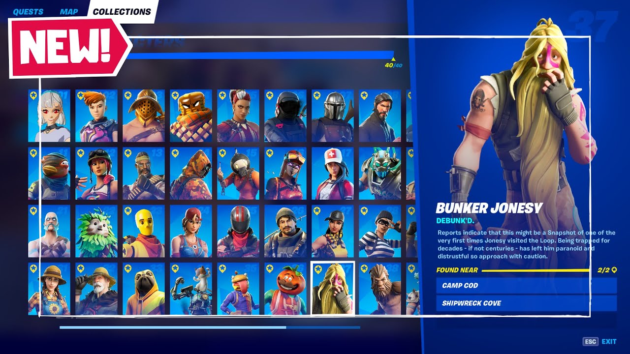 All 40 Characters Locations in Fortnite Chapter 2 Season 5! - How to Complete Character Collection