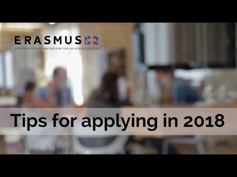 Tips for Erasmus+ applicants in 2018