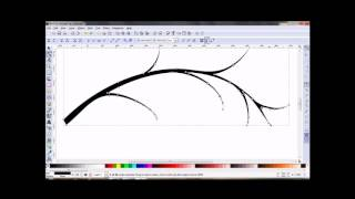 Inkscape - How to Draw a Tree Branch