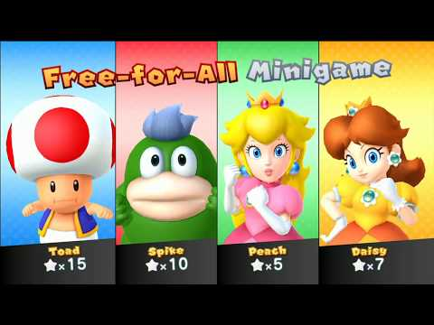 Mario Party 10 - Whimsical Waters (2 Player - Master CPU) Spike, Daisy, Peach, Rosalina #178