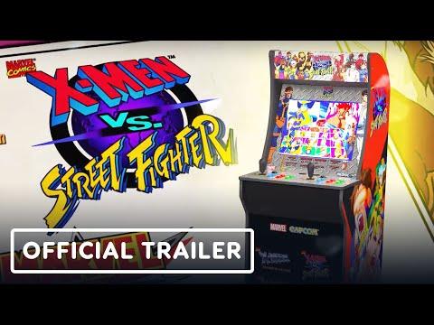 X-Men Vs. Street Fighter  - Official Arcade Trailer   Summer of Gaming 2020