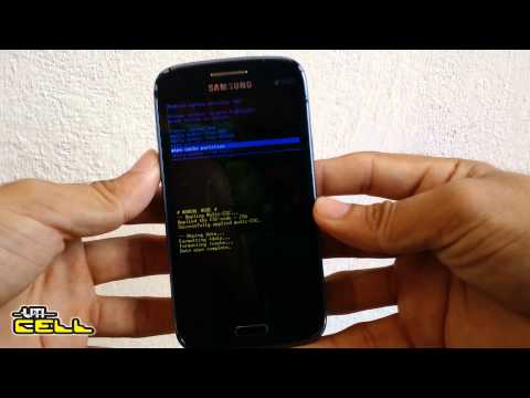 Hard Reset No Samsung Galaxy SIII / S3 Duos (GT-I8262) #UTICell