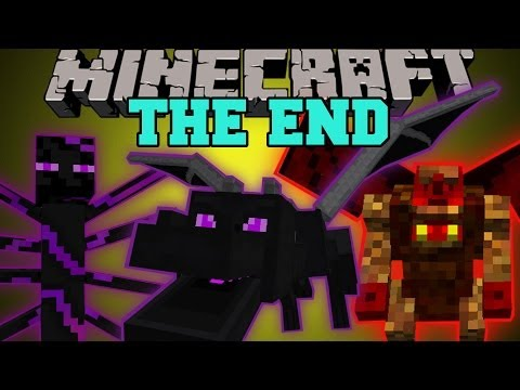 Thumbnail: Minecraft: THE END MOD (HARDCORE BOSSES, DUNGEONS, & EPIC ITEMS!) Mod Showcase