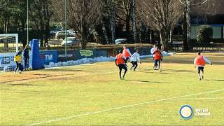 ALLENAMENTO INTER REAL AUDIO 02 02 2015