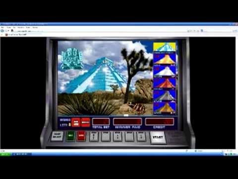 Видео Игровой автомат пирамида играть бесплатно онлайн 10 тысяч ацтек голд