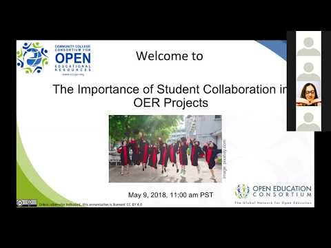 The Importance of Student Collaboration in OER Projects