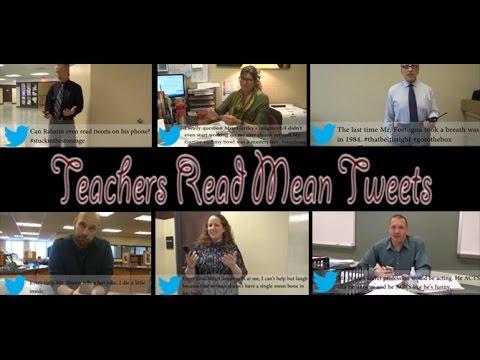 Teachers Read Mean Tweets