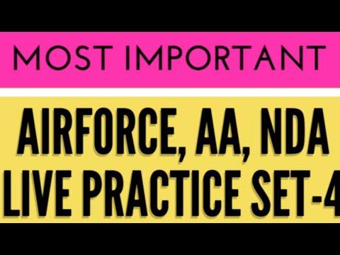 Airforce, Nda, Aa, Practice Set-4