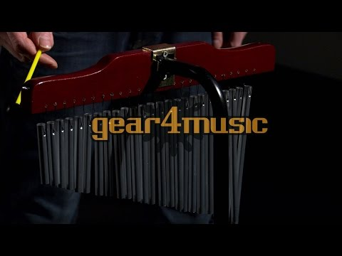 25 Bar Mark Tree with Stand by Gear4music