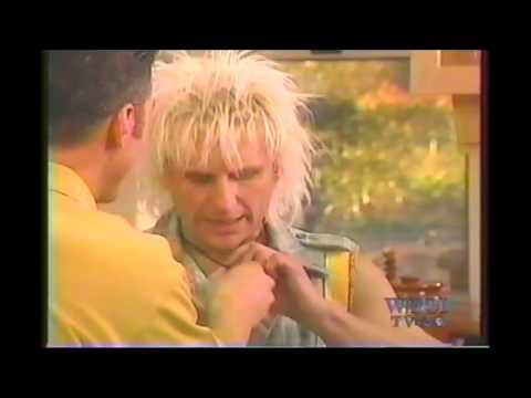 Jack Blades Night Ranger and C C  DeVille Poison on Michael Chiarello cooking show partial