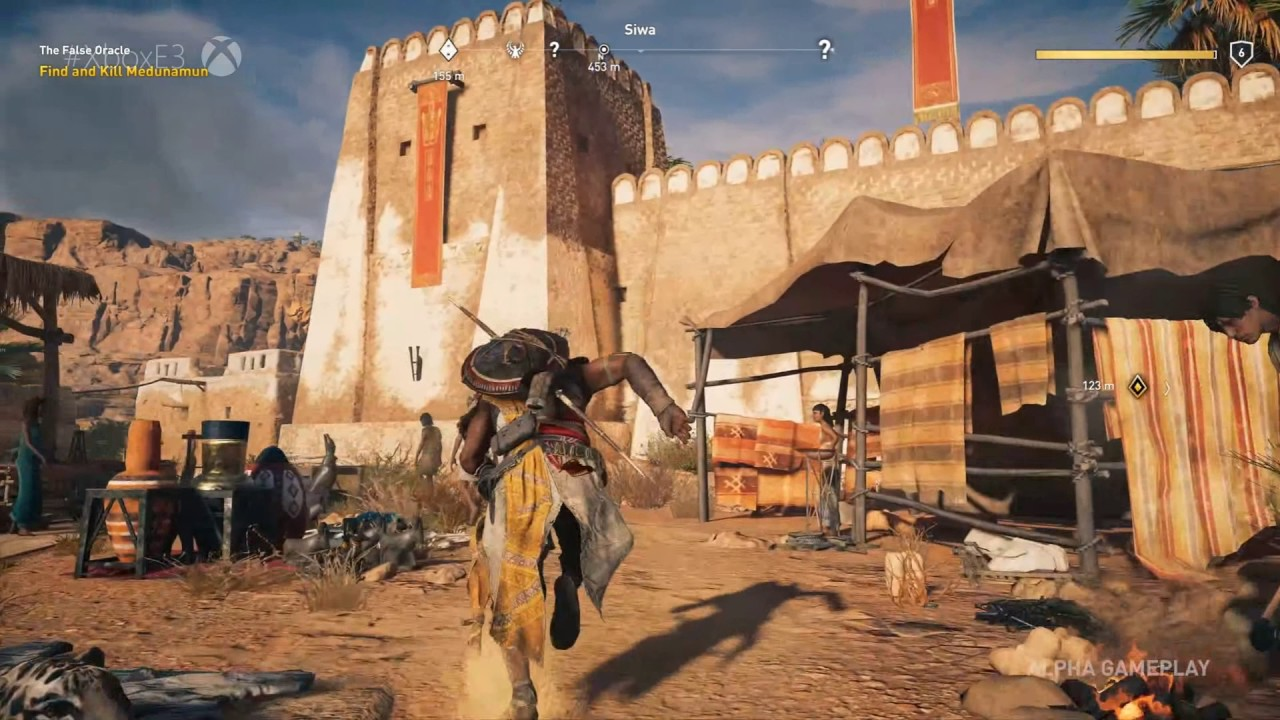 Assassin S Creed Origins Gameplay 5 Mins 1080p Hd October