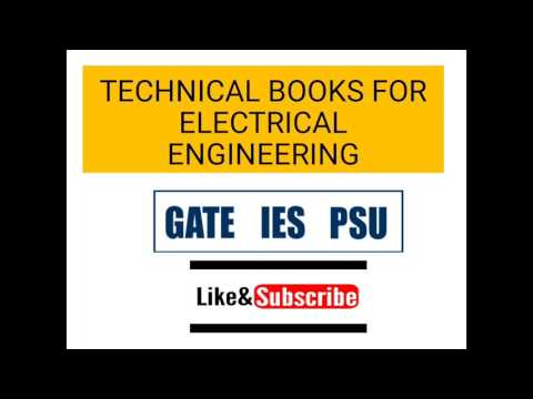 ELECTRICAL ENGINEERING TECHNICAL BOOKS