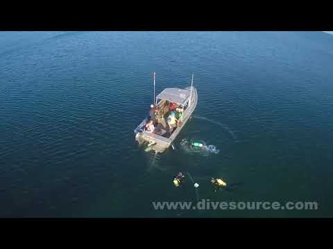 Diving with Dive Source | Juno Wreck dive   Bowmanville, Ontario, Canada