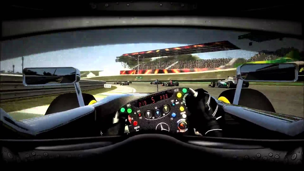 F1 2012 Driver View Mod Youtube