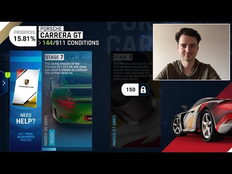 Asphalt 9 Legends Stream Try Unlock Stage 8 Porsche Carrera GT