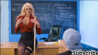 Hot Teacher teaching to boys how to xxx
