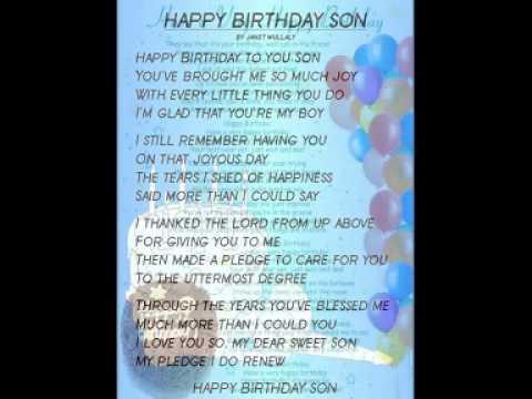 Happy birthday to my son anton youtube