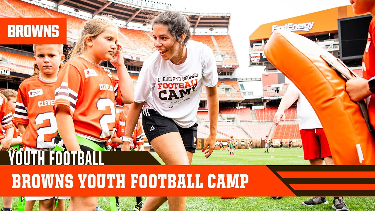 Browns Youth Football Camp helps promote a more diverse future for football