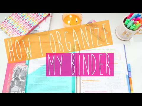 How I Organize My Binder: Tips & Tricks ♡
