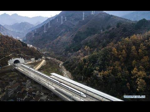 Xi'an-Chengdu high-speed train begins operation