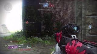 Destiny 2 - A arte de ser SNIPER - montagem