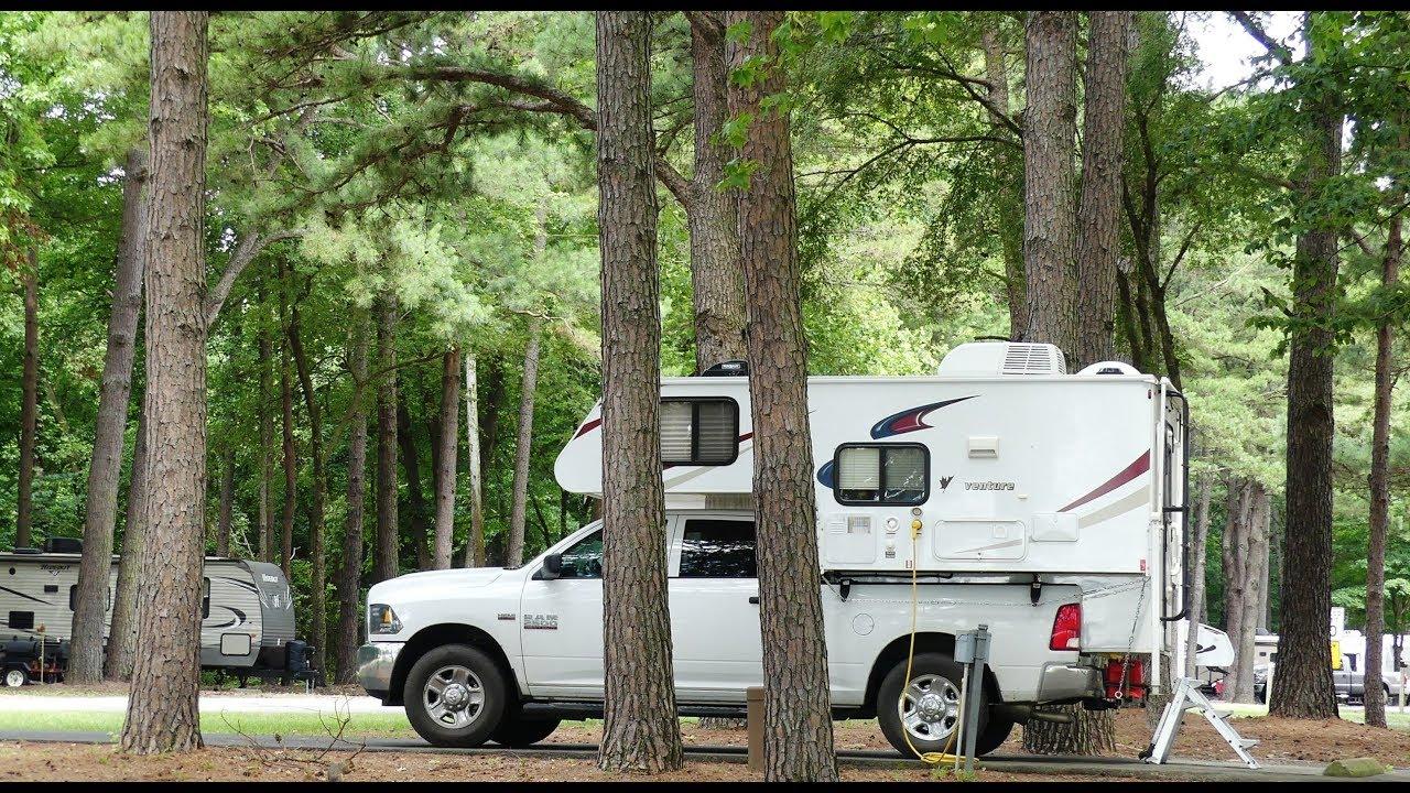 Day 42 - Amarillo RV Resort to Aux Arcs Campground, AR  (4K)