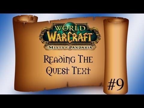"""Reading The Quest-Text Episode 9 """"The Panda Health And Safety Advisor"""""""
