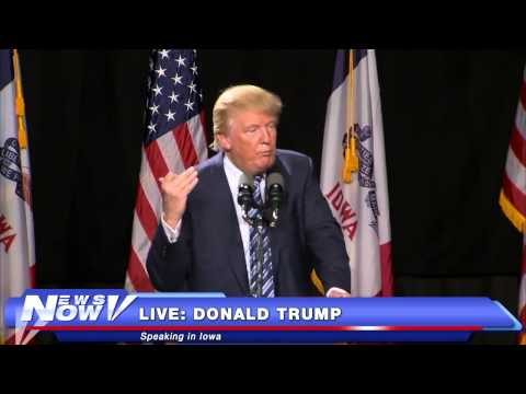 FNN: Donald Trump Speaks in Iowa