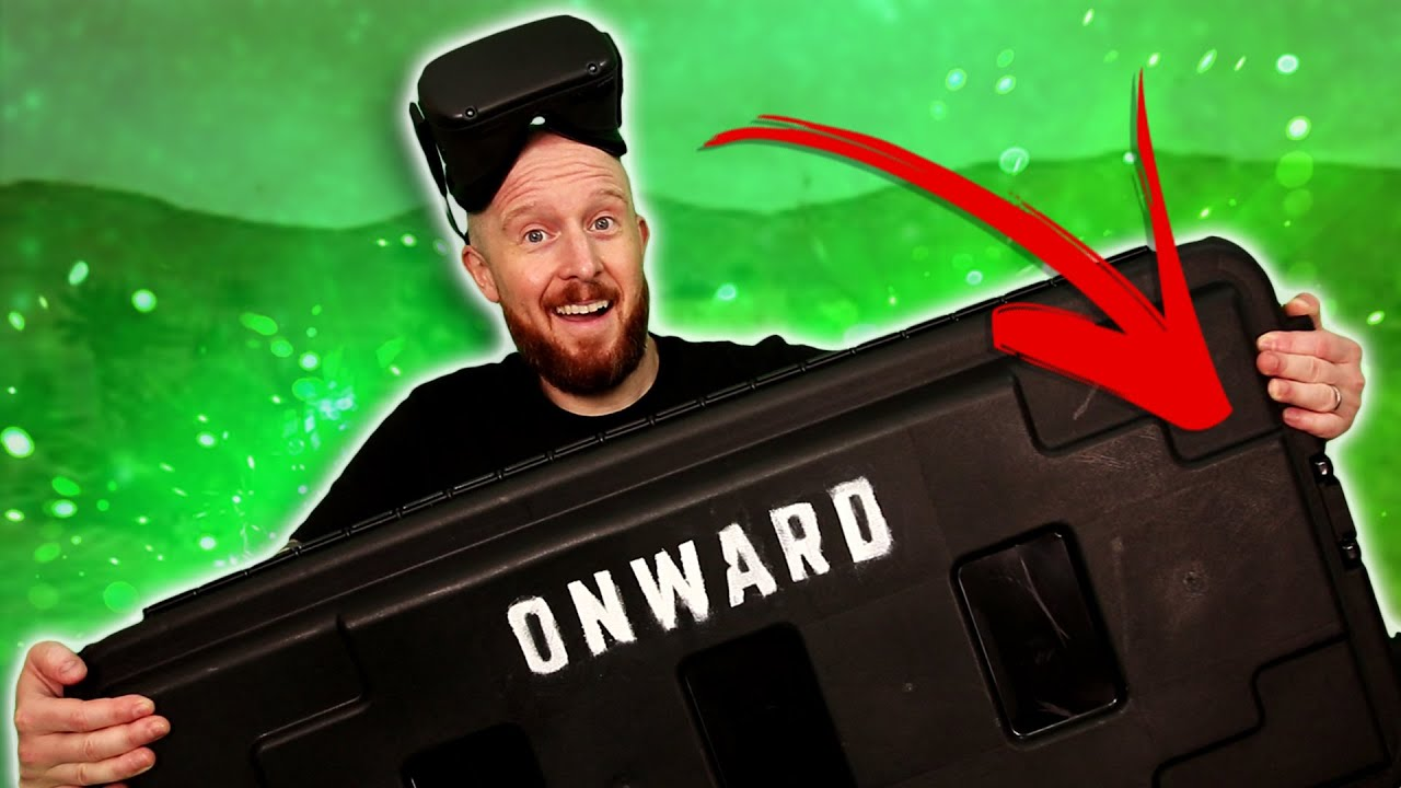 Onward Oculus Quest Gameplay & Epic Onward Loot Crate Unboxing