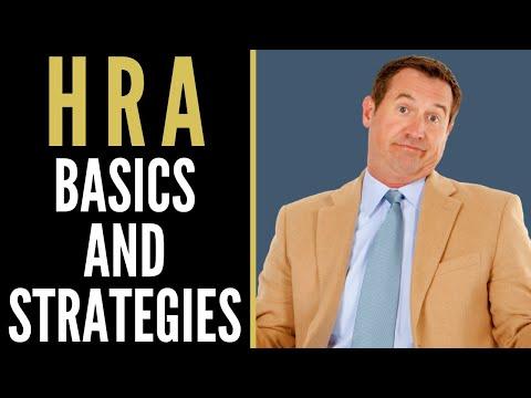 HRA Basics And Strategies | Mark J Kohler