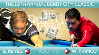 Efren Bata Reyes - Warren Kiamco | THRILLER MATCH | Derby City Classic 9-BALL 2017