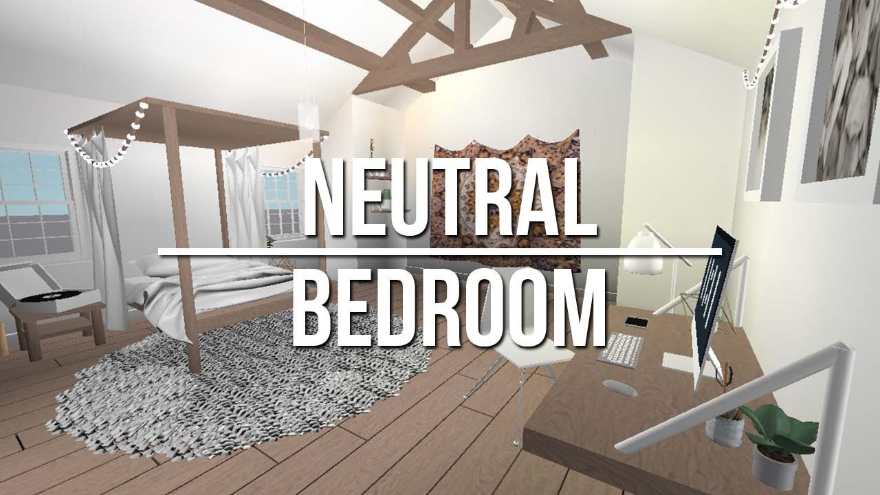 ROBLOX Studio | Neutral Bedroom