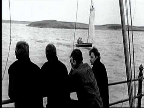 McCartney and Lennon on Epstein