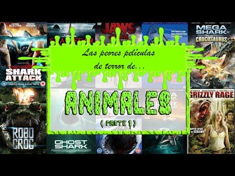 Las PEORES películas de terror de... ¡ANIMALES! | Parte 1