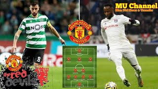 Man Utd told to complete £115m Bruno Fernandes and Moussa Dembele double deal