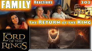 The Lord of the Rings | The Return of the King | FAMILY Reactions | Fair Use | 302