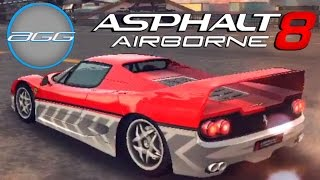 Asphalt 8 | Ferrari F50 (Decal Update)