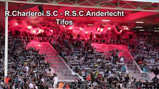 R.Charleroi.S.C. - R.S.C.Anderlecht 1-2 Pyro's & compil