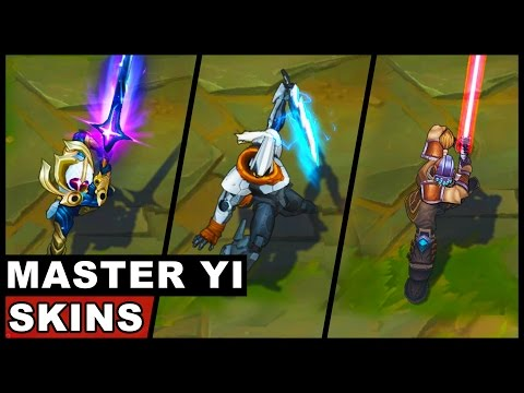 All Master Yi Skins Spotlight (League of Legends)