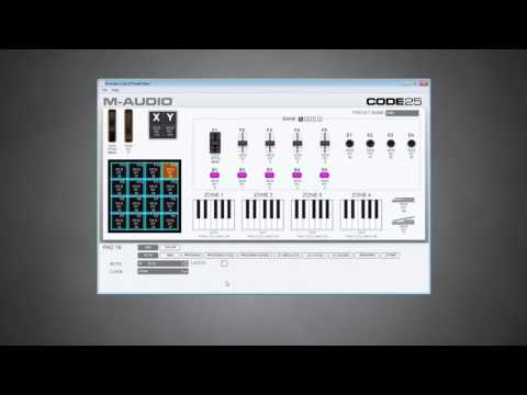 M-Audio || Software Preset Editor // Code Series Keyboards