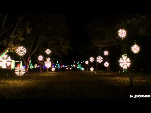 Christmas Light Show 2013 - Christmas with a Capital C (Nashville, TN)