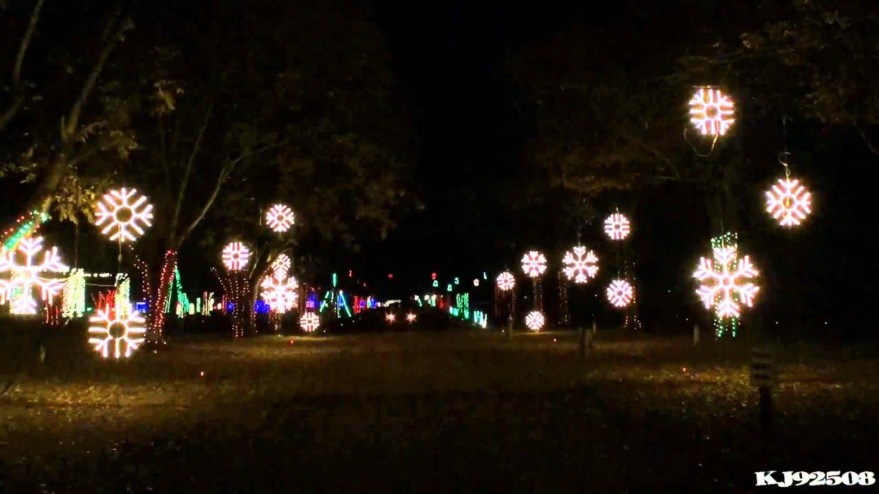 Christmas Light Show 2013 - Christmas with a Capital C (Nashville ...