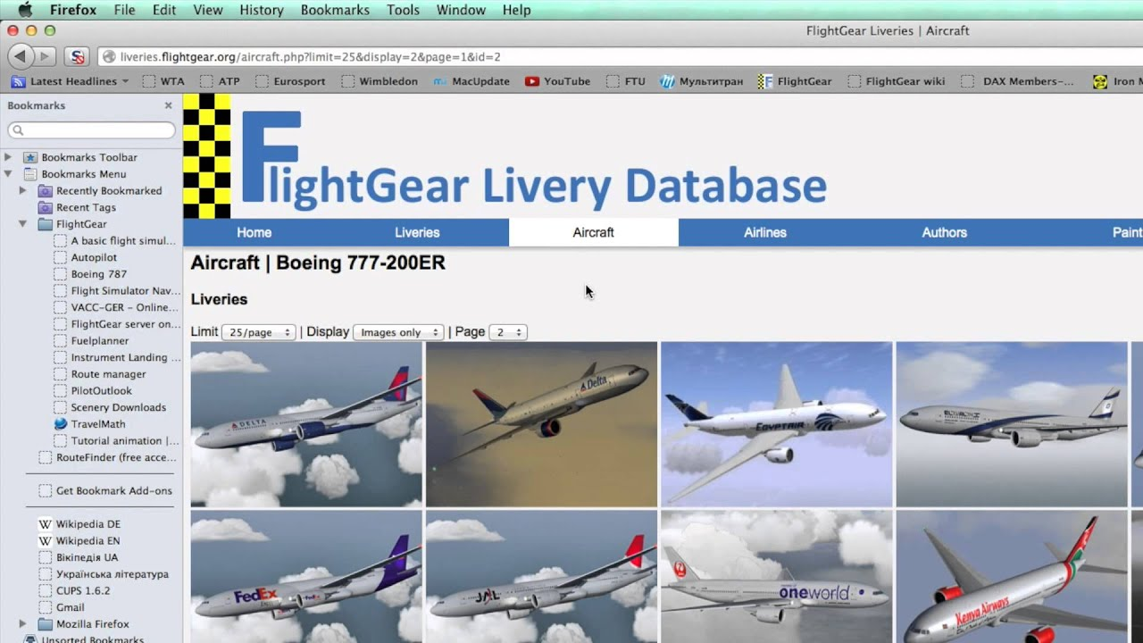 HOW TO PLAY FLIGHTGEAR #3 Livery Download