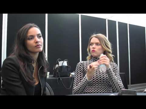 Jessica Lucas & Erin Richards NYCC 2015 Gotham