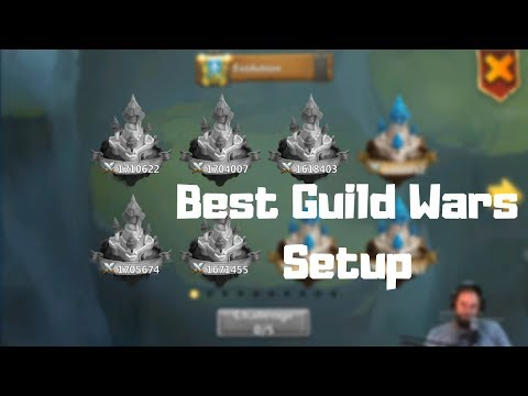 Best Guild Wars Attack Setup | Castle Clash