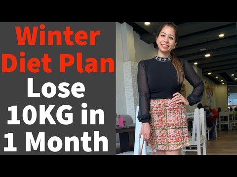 How To Lose Weight Fast 10KG in Winter | Full Day Diet Plan for Weight Loss | Fat to Fab
