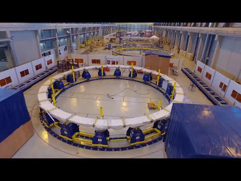 Flying over the ITER site - September 2017