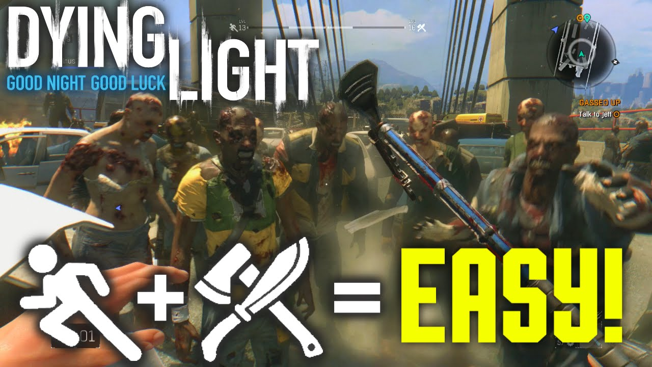 dying light how to level up agility fast