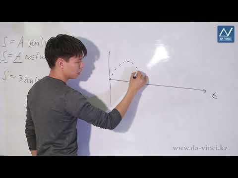 10 класс, 19 урок, График гармонического колебания